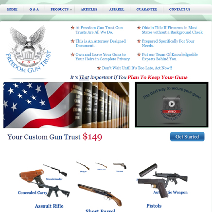 Freedom Gun Trust