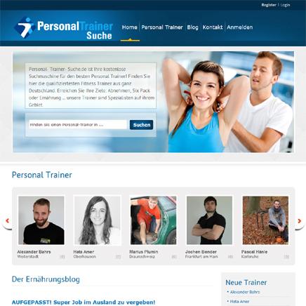 Personal Trainer Suche